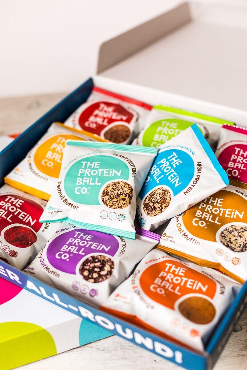 Rebranded Natural Protein Balls