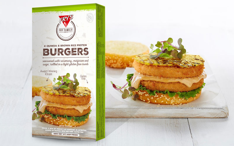 Ancient Grain Burger Patties