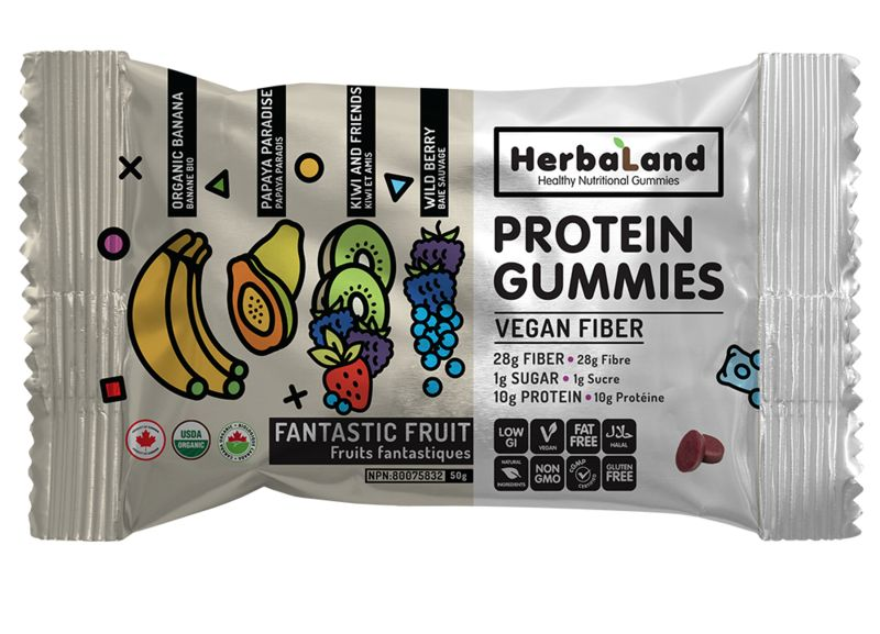 Protein-Rich Gummy Candies