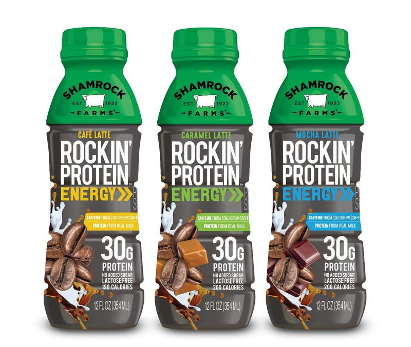 Ready-to-Drink Protein Lattes