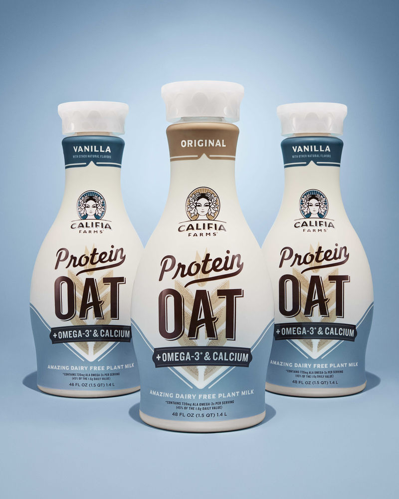 Protein-Packed Oat Beverages