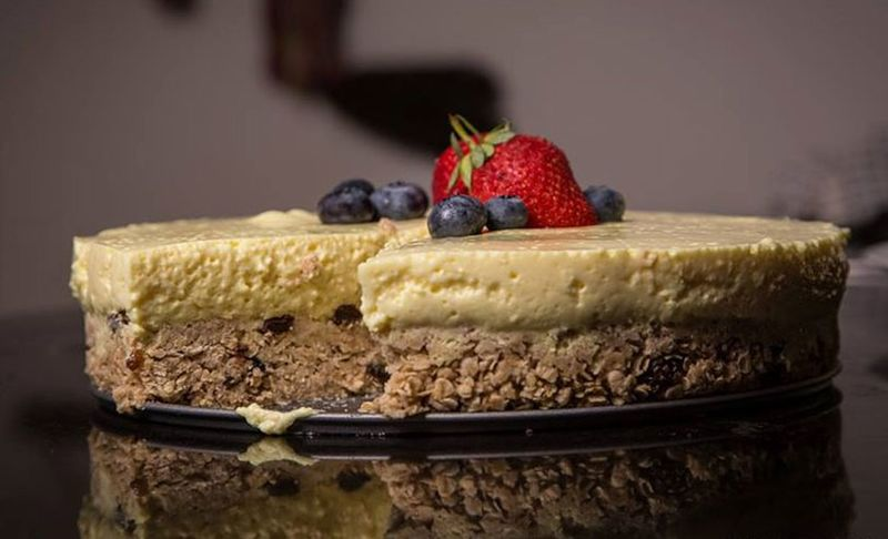 Protein Powder Cheesecakes