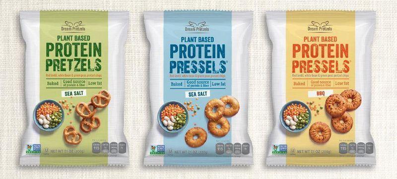 Protein-Rich Pretzel Snacks