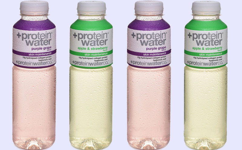 Collagen-Enriched Protein Waters