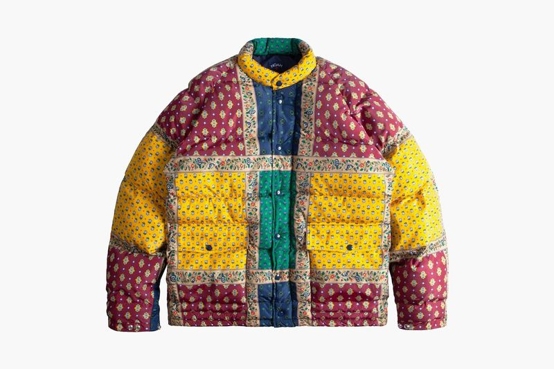 Recyclable Patchwork Outerwear