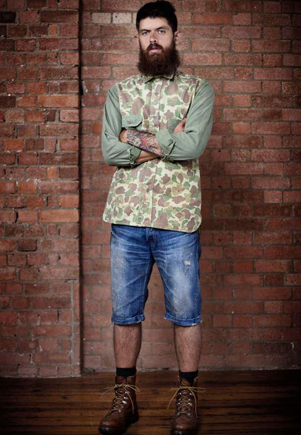 rugged mountain man lookbooks   prps 2011 collection