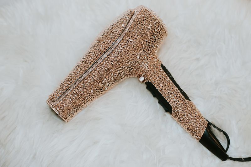 Crystal-Encrusted Hairdryers