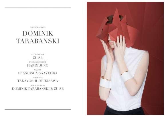 Minimalist Origami-Like Photoshoots