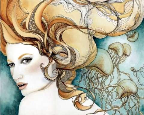 Psychadelic Femme Illustrations