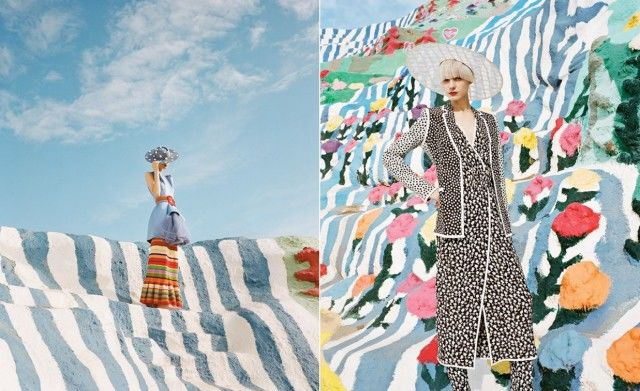 Psychedelic Fashion Photography