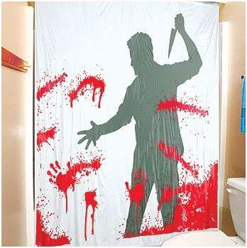 Motion Activated Shower Curtains