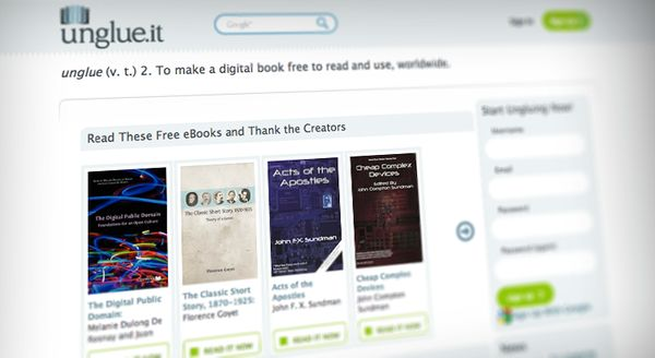 Crowdfunded Copyright-Free Ebooks