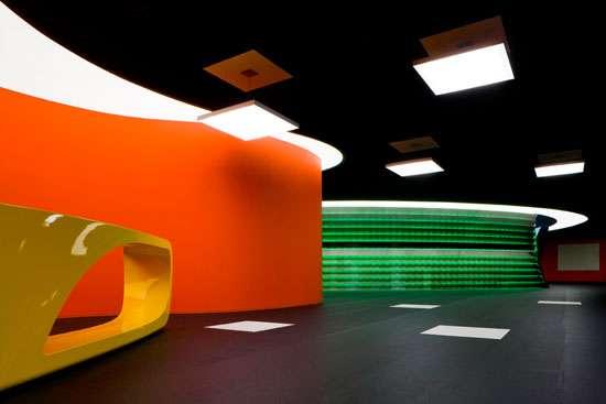 Futuristic Lighting in Public Spaces