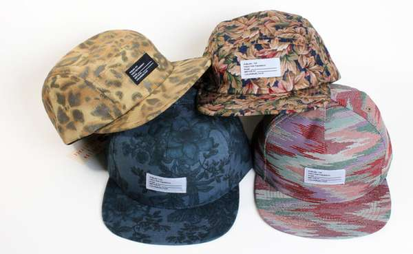 Eclectic-Patterned Caps