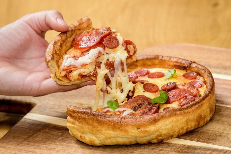 Yorkshire Pudding Pizzas