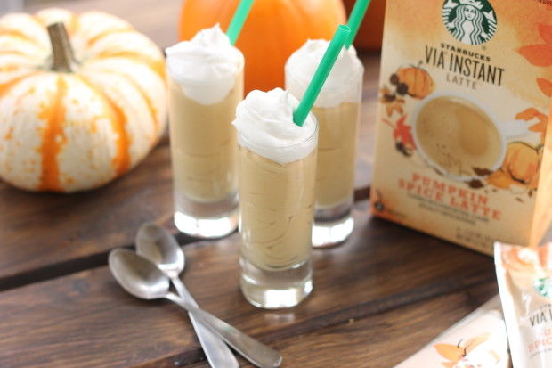 Latte Pudding Shots