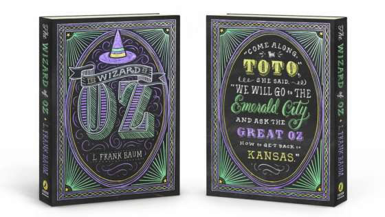 Chalk-Drawn Book Covers