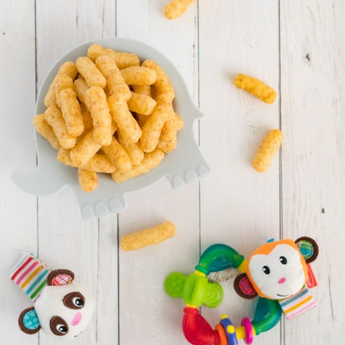 Nutritious Puffed Snacks