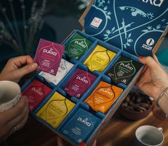 Festive Tea Sampler Boxes