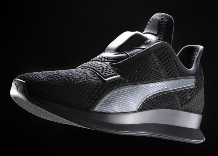 Intelligent Self-Lacing Sneakers