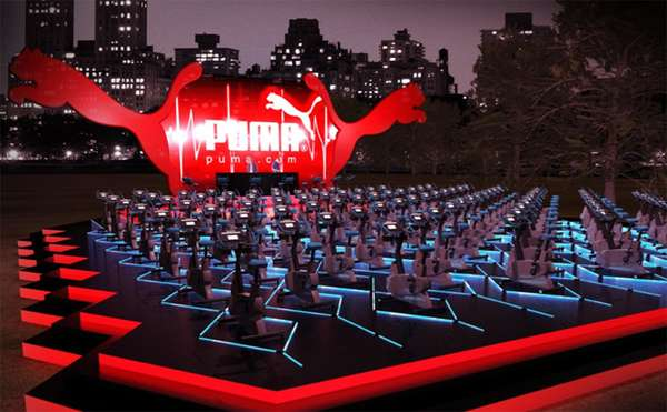 Interactive Fitness Campaigns