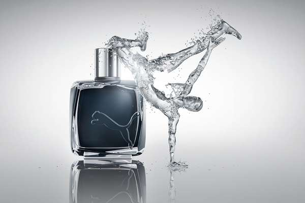 Splashing Fragrance Ads