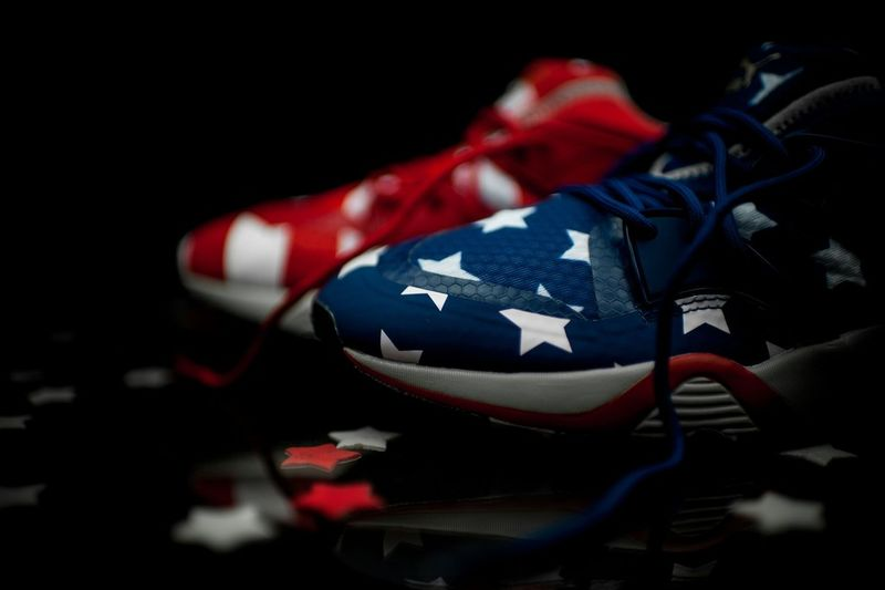 Celebratory Star-Spangled Sneakers