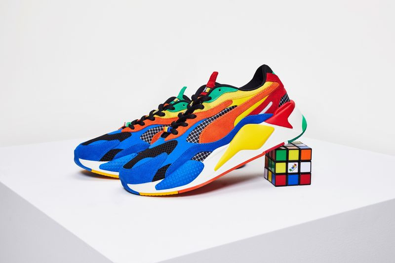 Puzzle Cube Sneakers