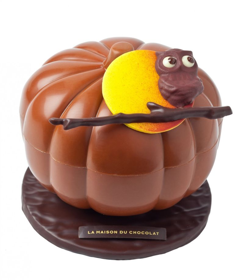 Decadent Chocolate Pumpkins