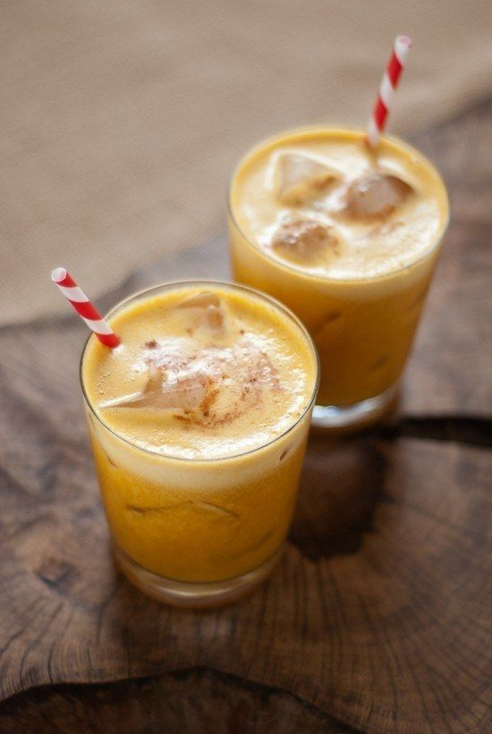 Pineapple Pumpkin Cocktails