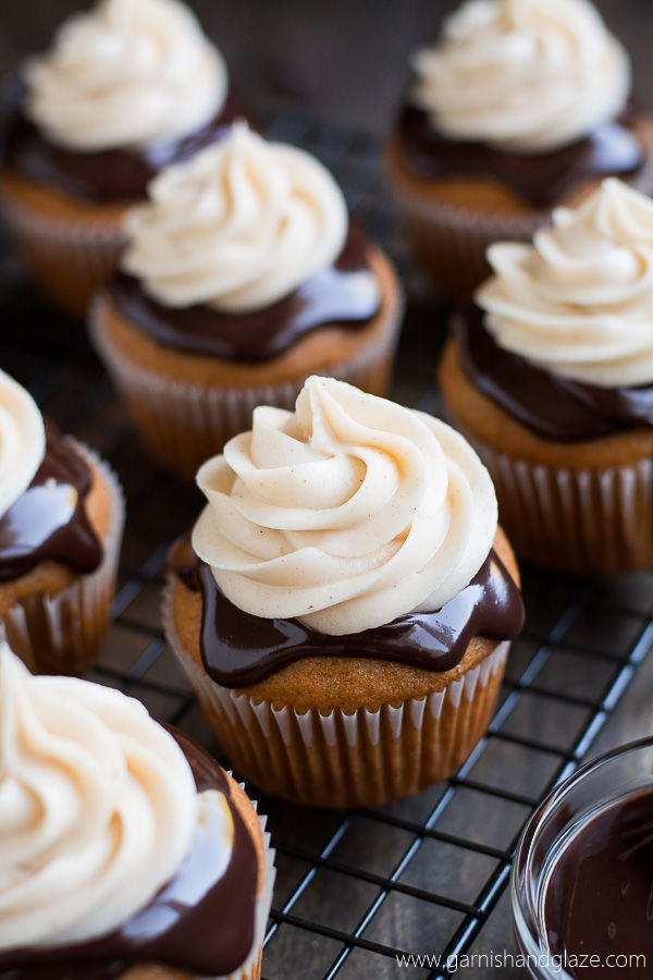 Double-Frosted Cupcakes