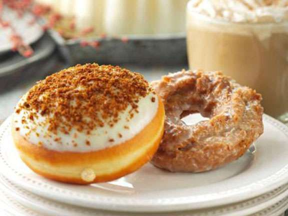 Festive Pumpkin Donuts