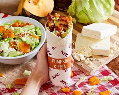 Autumnal Pumpkin Wraps