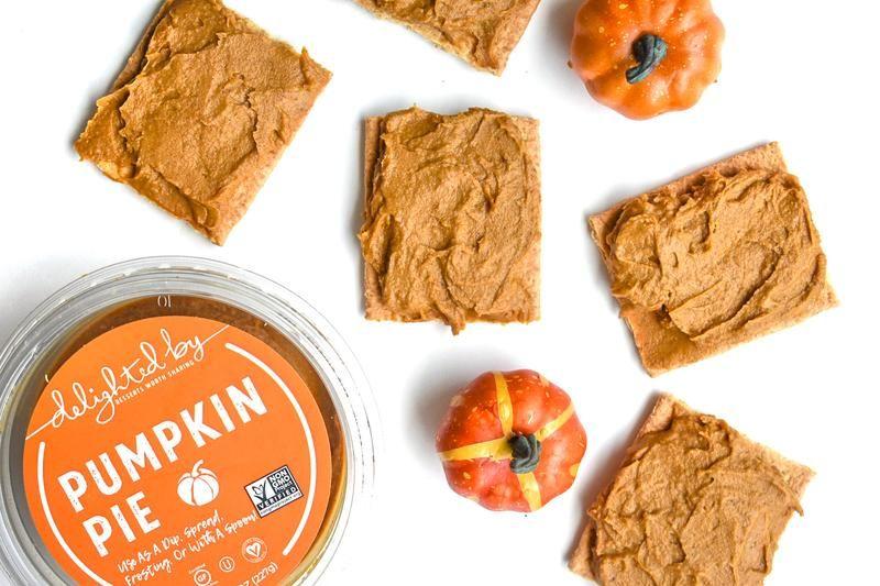 Pumpkin-Hummus Dips
