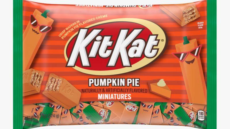 Breakable Pumpkin Pie Chocolates