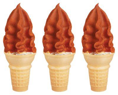 Pumpkin Spice-Coated Ice Creams