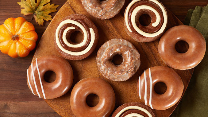 Seasonally Spiced Doughnuts