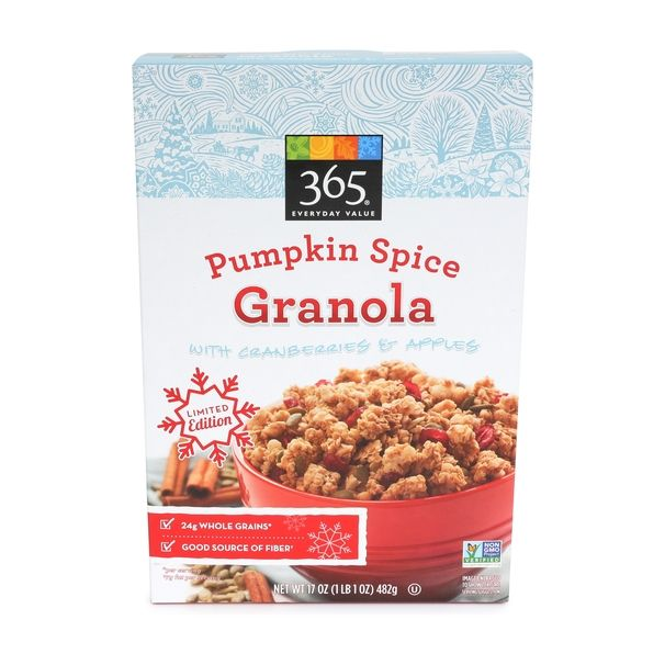 Seasonal Pumpkin Granolas