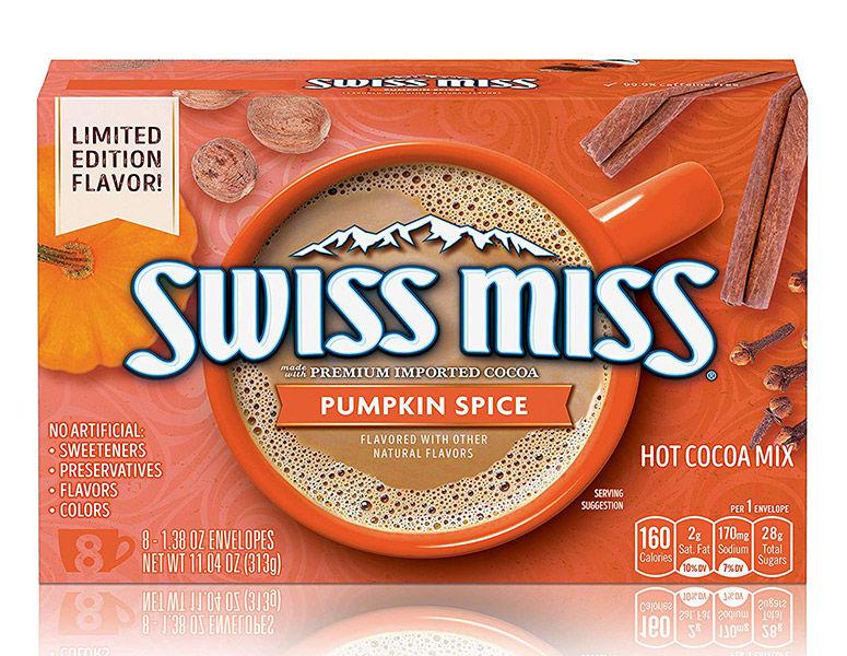 Spiced Autumnal Hot Chocolates