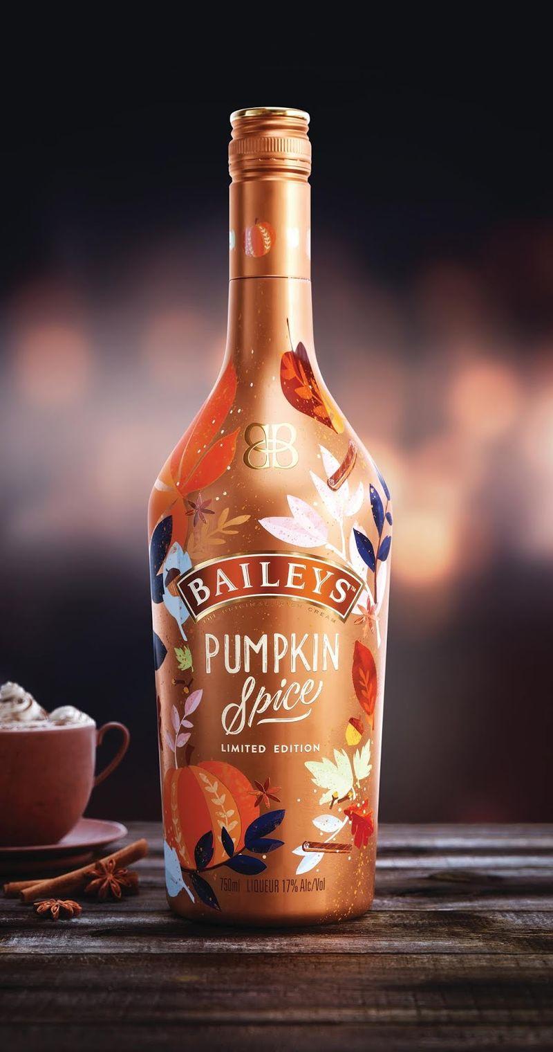 Spiced Pumpkin Liqueurs