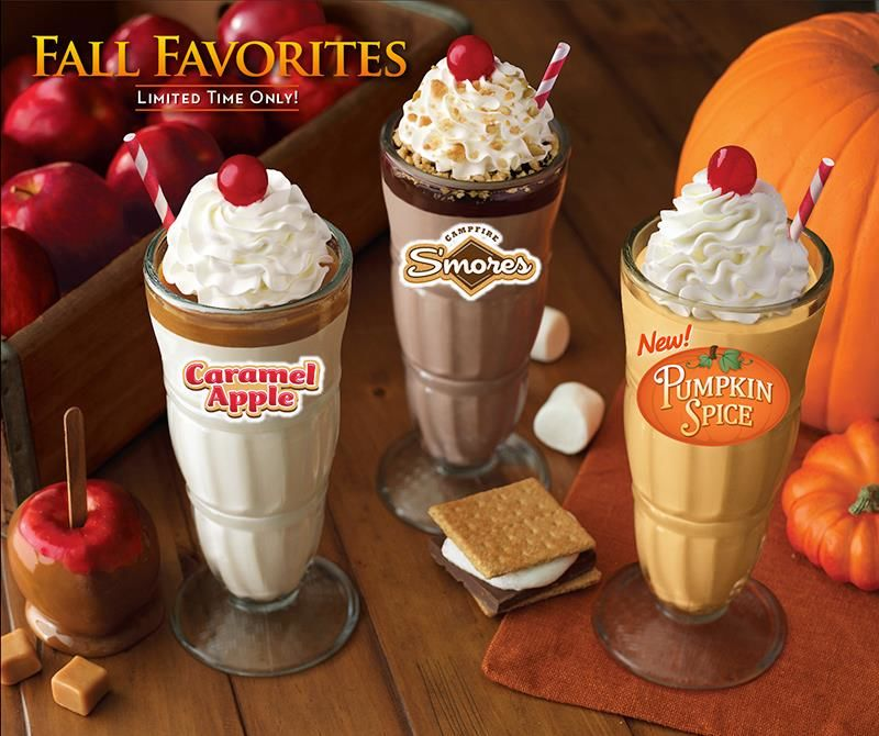 Spiced Pumpkin Shakes