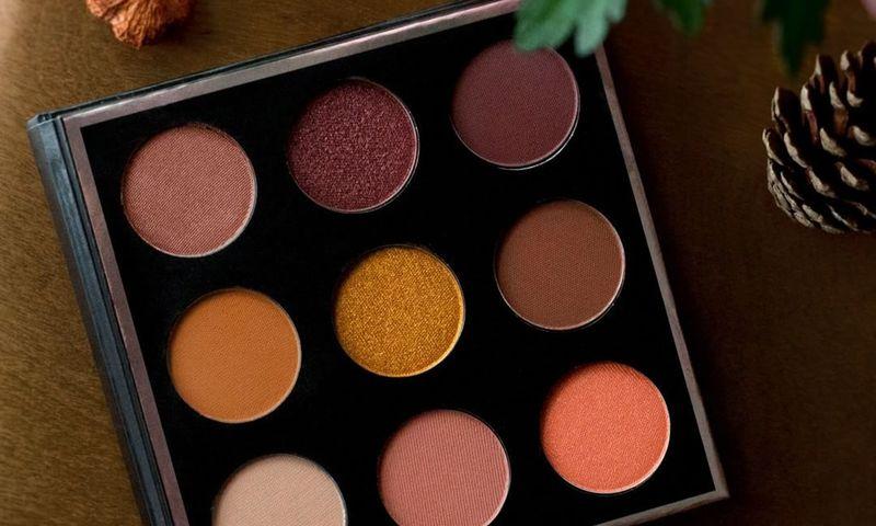 Pumpkin Spice Eyeshadow Palettes