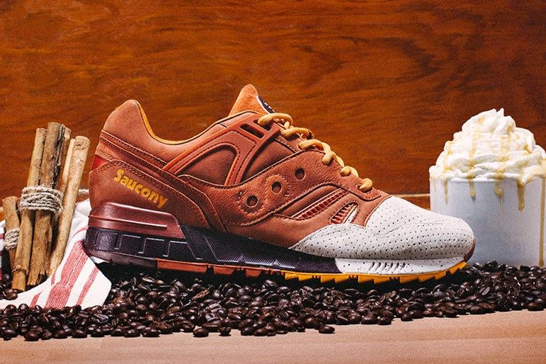 Pumpkin Spice-Inspired Sneakers