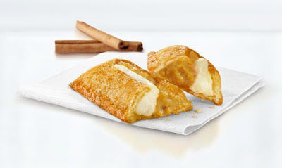 Cream-Filled Pumpkin Turnovers