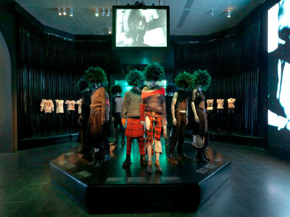 Punk-Fashion Evolution Exhibits
