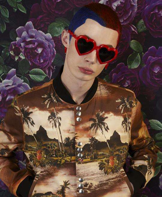 Patterned Punk Photography