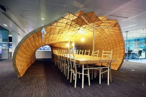 Insect Inspired Office Additions Pupa Pavilion