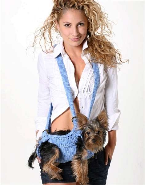 Fashionable Canine Slings Puppoose Dog Sling Carrier