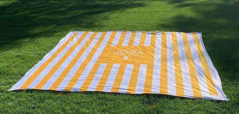 Massive Beer-Branded Blankets
