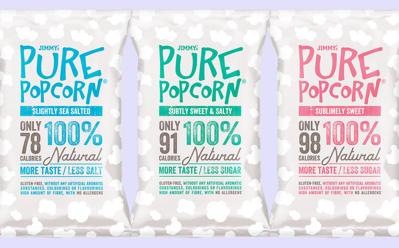 Balanced Low-Calorie Popcorns